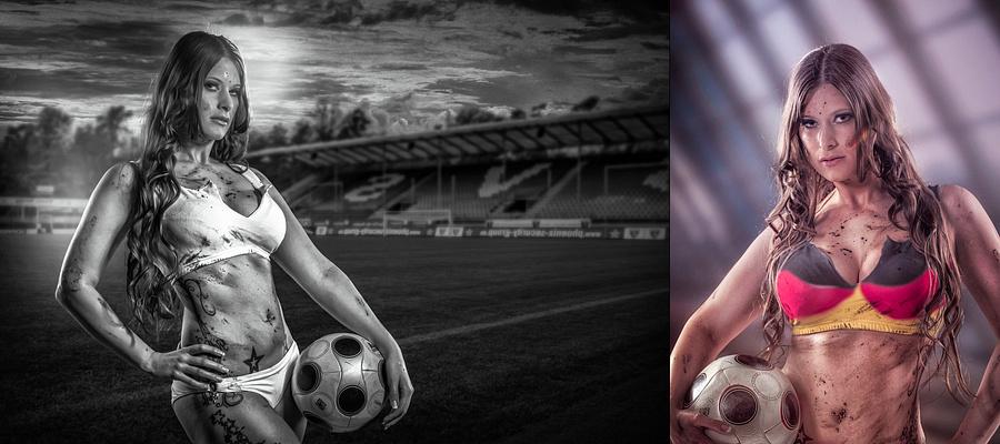 Soccergirl: anlässlich der WM 2014